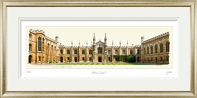 Darwin College Cambridge. The Dining Hall Hermitage and Old Granary